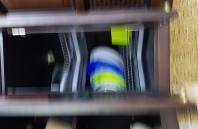 посудосушка в угловом шкафу