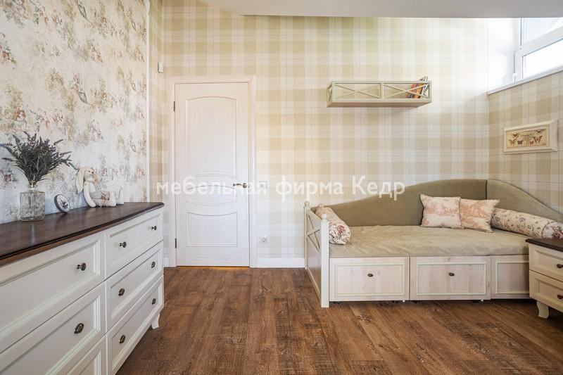 мебель для детской прованс классика из массива дерева