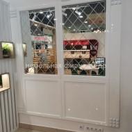 Зеркальные стеновые панели из МДФ